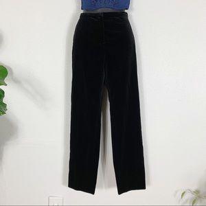 Jil Sander Velvet Pants